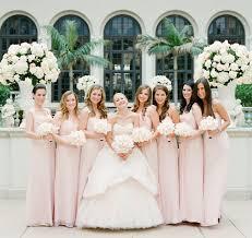 blush pink bridesmaid dresses bridesmaid dresses blush bridesmaid gowns from real weddings