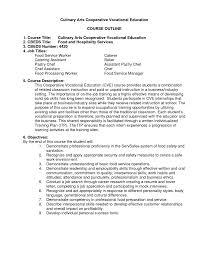 Food And Beverage Supervisor Resume Resume For Food Service Resume For Your Job Application