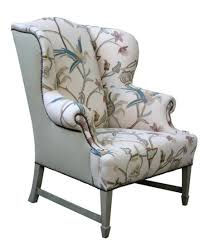 brown accent chair with arms upholstered kitchen chairs wingback