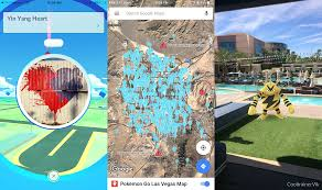 Map Las Vegas Strip Your Ultimate Guide For Catching Pokémon In Vegas