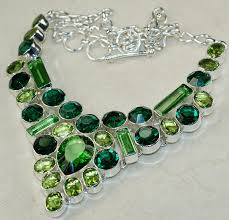 gemstone jewelry necklace images Fluorite gemstone silver necklace925 sterling silver fashion jpg