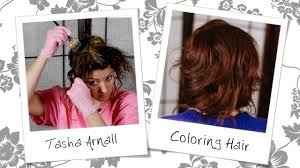 how to mix schwarzkopf hair color hair color tutorial how to color hair tasha arnall youtube