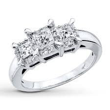 princess cut 3 engagement rings princess cut engagement rings wedding rings store