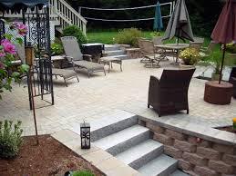 paver patio photos groundhog landscaping