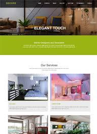 interior design responsive website templates edge