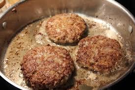 deep south dish hamburger steak with creamy onion gravy