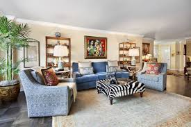 light blue patterned textile armchair and sofa family room