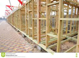 Frame House The Wooden Structure Of The Building Roofing Construction Wooden