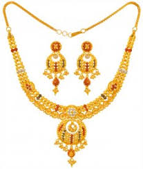 gold har set 22k gold necklace sets 22k gold necklace and earrings sets