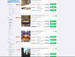 skyscanner api hotels filtering stack overflow