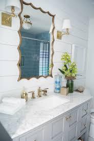beach house bathroom with shiplap wall bathroom love pinterest