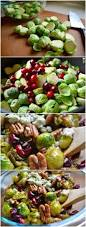 Thanksgiving Dishes Pinterest Pan Seared Brussels Sprouts With Cranberries U0026 Pecans Recipe