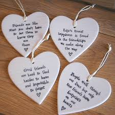 heart decorations porcelain heart hanging decoration by the alphabet gift shop