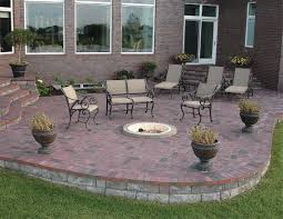 building fire pit in backyard in ground fire pit ring ideas