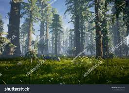 3d render what hell creek may stock illustration 387125413