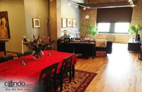 Union Park Dining Room by Union Park Lofts Condos For Sale And Condos For Rent In Chicago