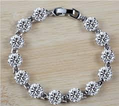 bracelet gift images Certified sona hand chain women bracelet gift 925 sterling silver jpg