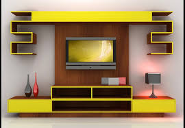 tv 27 best lcd tv showcase designs for hall home and house