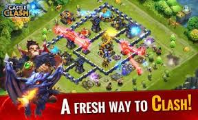 game castle clash mod apk castle clash 1 4 3 apk mod android
