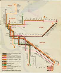 New York Subwy Map by Paul Shaw Letter Design U201cwho Made That Subway Signage U201d U2014who Knows