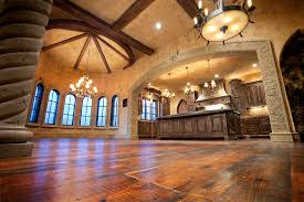Tuscan Style Flooring by Incredible Old World Tuscan Ramsey Building New Home