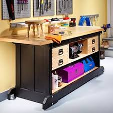 Free Wood Workbench Designs by Build A Basic Work Bench Fun Woodworking Projects Pinterest