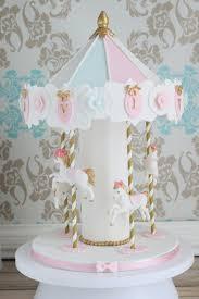 carousel cake topper bakingmummy 俏媽咪烘焙坊 carousel cake