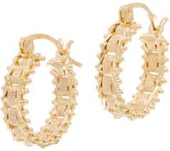 pics of gold earrings imperial gold earrings jewelry qvc