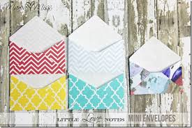 printable mini envelope template little love notes mini envelopes mama miss