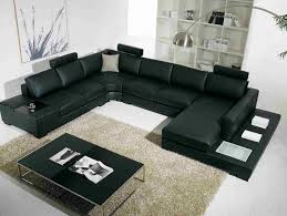 Leather Sofa Designs 20 Modern Leather Living Room Furniture Home Design Lover