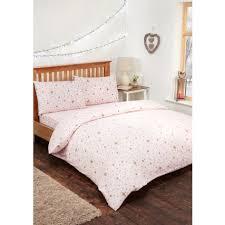 Brushed Cotton Duvet Covers Stars Brushed Cotton Duvet Set Single Bedding B U0026m