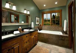 painted bathroom ideas bath room color green and relatively wood is a great