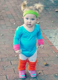 Monster Inc Halloween Costumes Cute Jane Fonda 80 U0027s Workout Costume For A Toddler Halloween