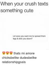 Cute Memes For Your Crush - when your crush texts something cute lol sooo you want me to