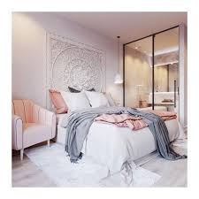 rare king bed headboard 72 6ft sculpture lotus flower