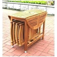 folding patio table with umbrella hole patio folding patio table acacia folding patio table folding patio