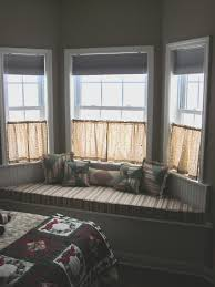 bay window design creativity window curtain ideas and half