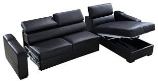 Leather Sofa Beds With Storage Chaise Sofa Bed With Storage Forsalefla
