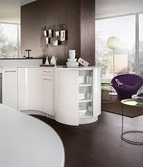 cuisine meubles bas meubles arrondis éloge de la courbe en cuisine mobalpa