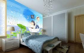 papier peint pour chambre d enfant l de papier peint enfant fleurs et oiseaux chambre de papier peint