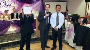 videographer nyc a wedding at a wedding reception videographer