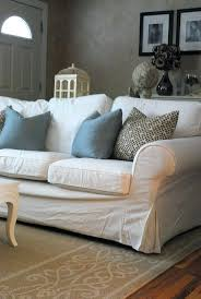 Best Slipcover Sofa by White Slipcovered Sectional U2013 Vupt Me