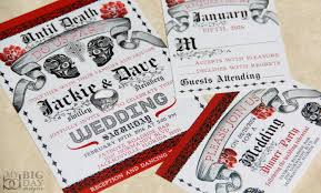 wedding invitations jacksonville fl day of the dead wedding invitations mexican wedding sugar