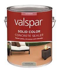 amazon com valspar 82020 gray solid color concrete sealer 1
