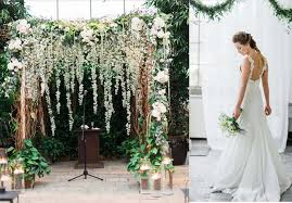wedding backdrop green nature green and white wedding party ideas lianggeyuan123