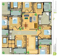 modern home interior design 28 color floor plan colored house
