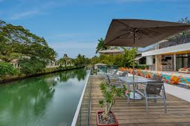 coral gables luxury homes superb 5 bedroom waterfront home with boat dock on the coral