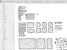 wireframe kit for sketch by petr ondrusz dribbble