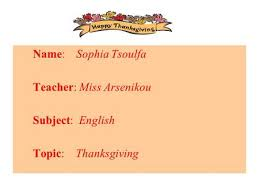 thanksgiving an american tradition ppt