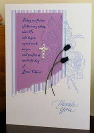 religious thank you cards 127 baptism card handmade baptism christian cards